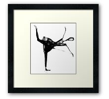 Ballerina by Penny V-P is Exhibiting at the Sala Patriziale, Danzarte Gallery, Switerland, from 5th April to 14th April 2012  Framed Print