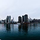 Manhatten Skyline by petitejardim