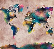 World Map by JBJart