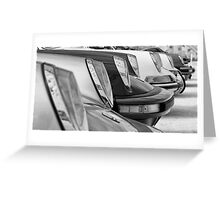 911s On Parade Greeting Card