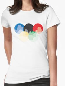 Smoglympics Womens Fitted T-Shirt