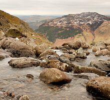 Lake District - stream by Bartosz Chajek