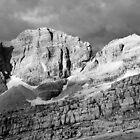 Dolomites - view from rifugio Pedrotti by Bartosz Chajek