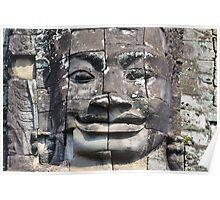 Angkor face Poster