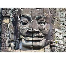 Angkor face Photographic Print
