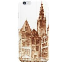 Gdansk Town hall iPhone Case/Skin