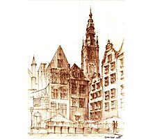 Gdansk Town hall Photographic Print