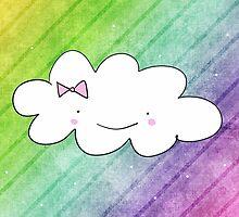 Rainbow cloud by enelbosqueencan