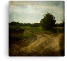 Dirt Tracks Canvas Print
