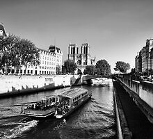 Cruising the Seine by Lisa Williams