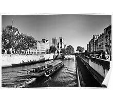 Cruising the Seine Poster