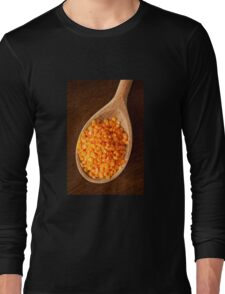Healthy food red lentils Long Sleeve T-Shirt