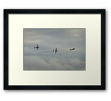 Corkscrew formation Framed Print