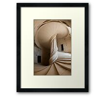Chateau de la Rochefoucauld Stairway II Framed Print