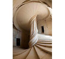 Chateau de la Rochefoucauld Stairway II Photographic Print