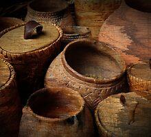 Prehistoric pottery by Javimage