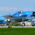 Grumman F6F Hellcat by Robert Burdick