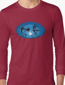 Cool music DJ band - Guitar Synthesizer player Long Sleeve T-Shirt