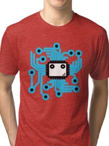 Computer chip Tri-blend T-Shirt