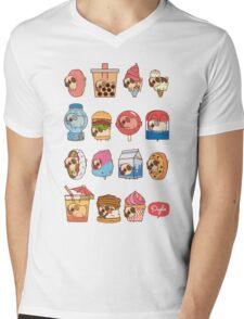 Puglie Food 3 Mens V-Neck T-Shirt