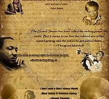 Black History Month Poster (2011) by trmdesign