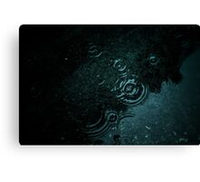 Dark water Canvas Print