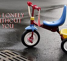 Lonely Without You (Card) by Tracy Friesen