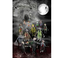 13 Zombies are here to Entertain You! Photographic Print