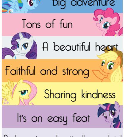 Friendship Is Magic Sticker