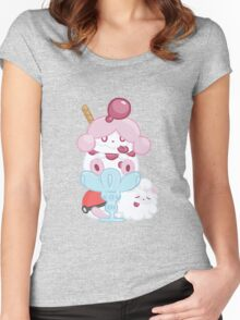 Slurpuff and Swirlix Women's Fitted Scoop T-Shirt