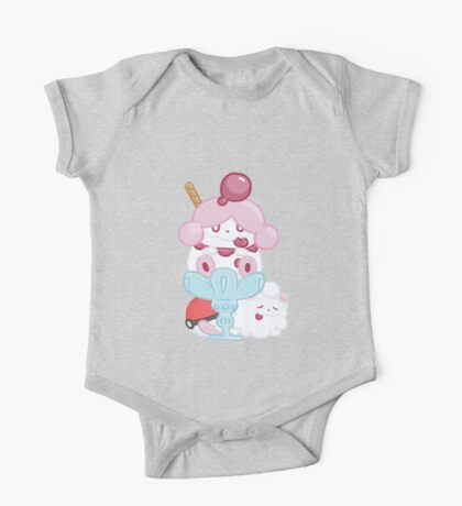 Slurpuff and Swirlix One Piece - Short Sleeve