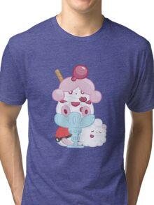 Slurpuff and Swirlix Tri-blend T-Shirt