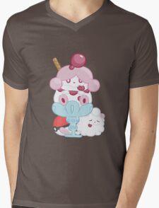 Slurpuff and Swirlix Mens V-Neck T-Shirt