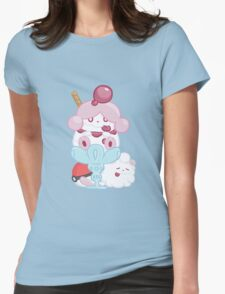 Slurpuff and Swirlix Womens Fitted T-Shirt
