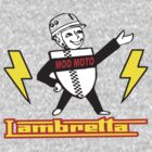 Lambretta Mod Man  by BUB THE ZOMBIE