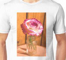 Country White And Purple Rose Unisex T-Shirt