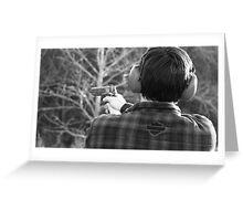 Shot. Greeting Card