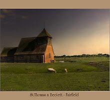 St.Thomas a Beckett - Fairfield by Kim Slater