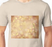spring leaves on blurred background Unisex T-Shirt