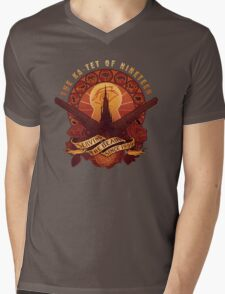All Things Serve the Beam Mens V-Neck T-Shirt