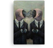 Empty suits Canvas Print