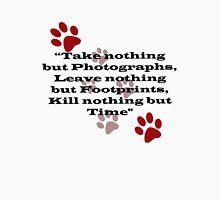 Photographers FootPrints #5 Unisex T-Shirt