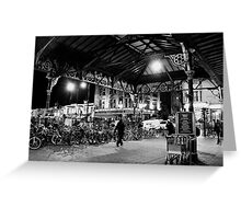 Bicycle Parking Greeting Card
