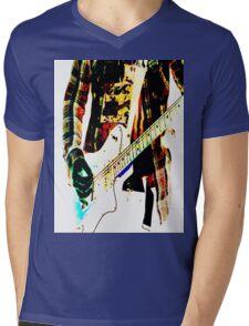 Guitar Mens V-Neck T-Shirt
