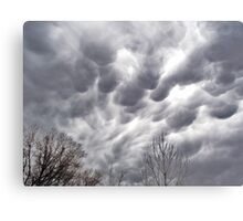 Morning Storm Clouds Canvas Print