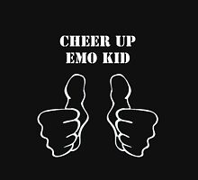 Emo Kid - White Unisex T-Shirt