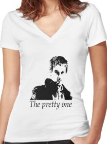 Rory Williams - The pretty one Women's Fitted V-Neck T-Shirt