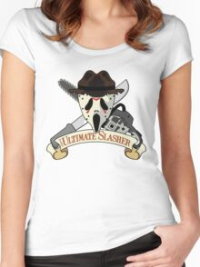 The Ultimate Slasher Villian Women's Fitted Scoop T-Shirt