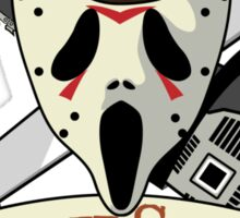 The Ultimate Slasher Villian Sticker
