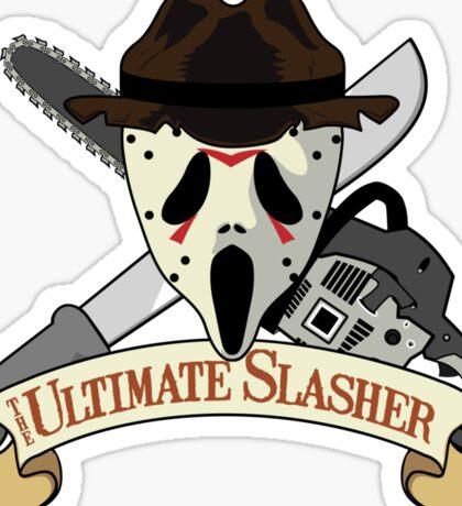 The Ultimate Slasher Villian Sticker